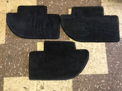 Rear Floor Mat Black