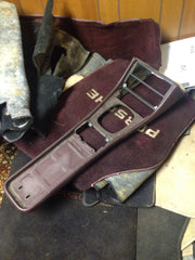 Center Console Surround - Burgundy