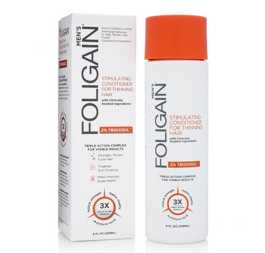 FOLIGAIN HAIR LOSS CONDITIONER with 2% Trioxidil® (8oz) 236ml