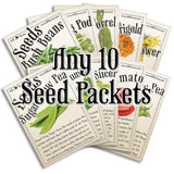 Any 10 Seed Packets