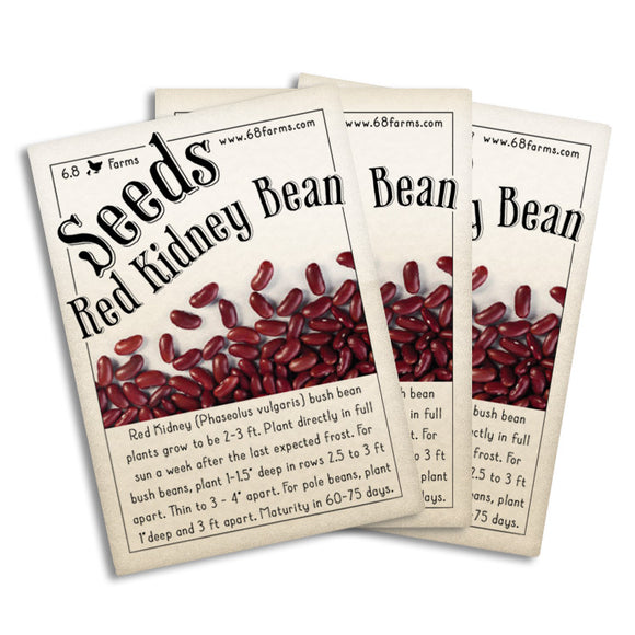 Red Kidney Bean (Bush)