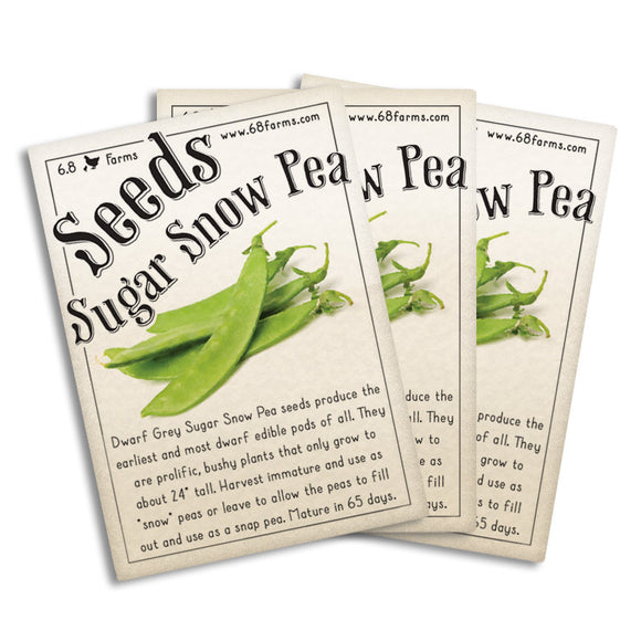 Dwarf Grey Sugar Snow Pea