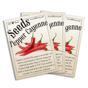 Pepper Cayenne Long Red
