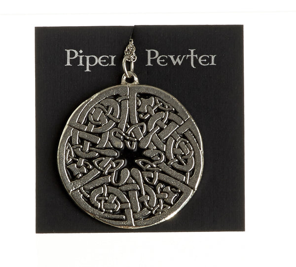 Piper Pewter Necklace (Celtic Medallion-PD15)
