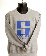 Sydney Steel Crew Neck Sweater