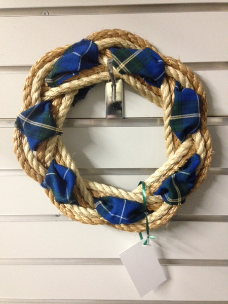 Rope Wreath (NS Tartan)