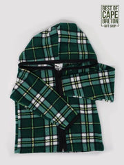 CB Tartan Child's Fleece Hoodie