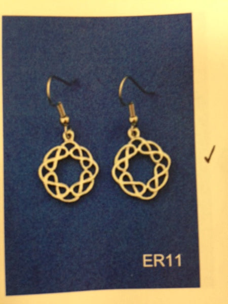 Celtic Round Earrings-ER11