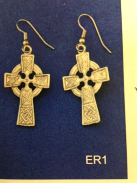 Circled Celtic Cross-ER1
