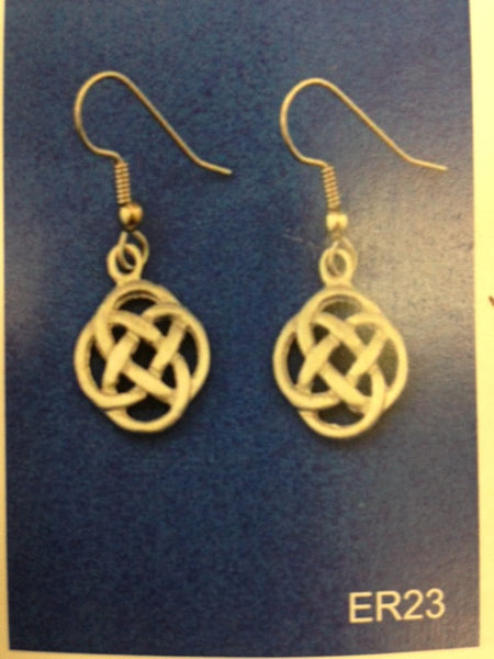 Celtic Love Knot Earrings-ER23