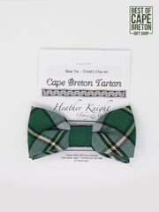 CB Tartan Child's Bow Tie