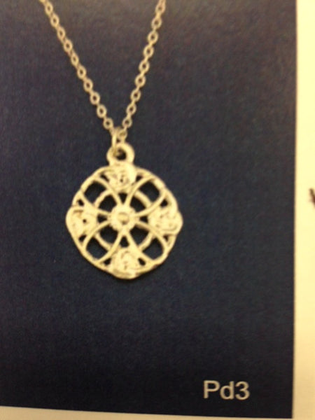 Celtic Lace Pendant-PD3