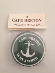 CB Is My Anchor Coasters (Set of 4)