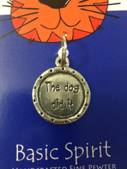 Dog Did It Cat Tag (PGC-22)