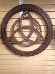 "18"" Wood Celtic Knot"