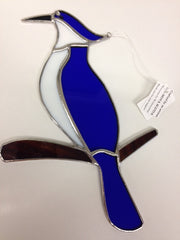 Blue Jay - Stained Glass