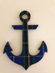 Ornament ( Tartan NS Anchor)