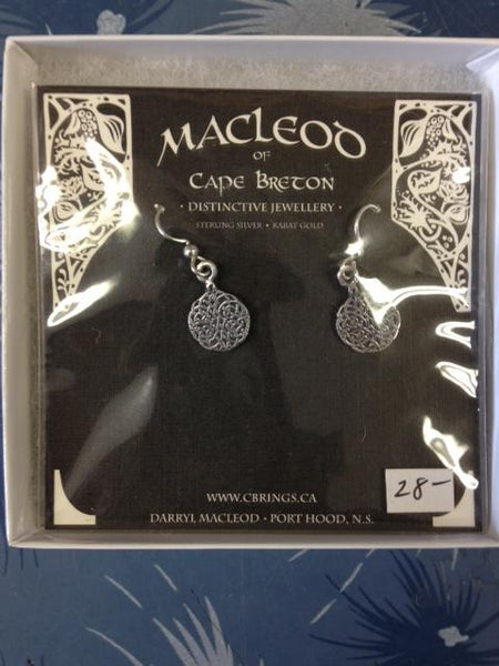 MacLeod's (Celtic Knot Silver Earrings)