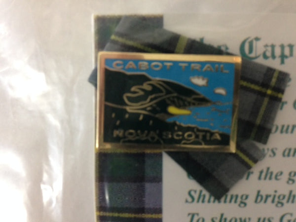 Cabot Trail Lapel Pin