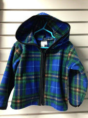 Fleece Hoodie (Child's NS Tartan)
