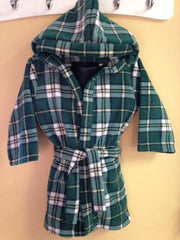 CB Tartan Toddler Fleece Housecoat
