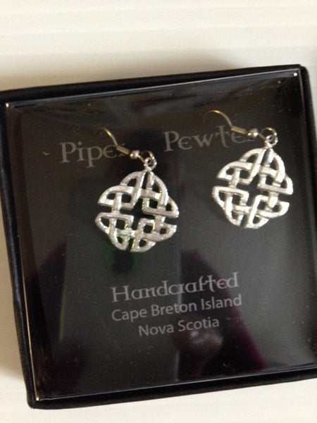 Piper Pewter 4 part Trinity Earring-ER28