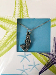 Pewter Necklace with Mermaid Charm (CD-25)