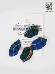 NS Tartan Child's Hair Clips