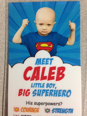 Caleb's Courage Bookmark