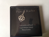 Piper Pewter Celtic Love Knot Pendant-PD23