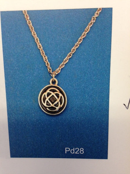 Celtic Love Knot Pendant-PD28