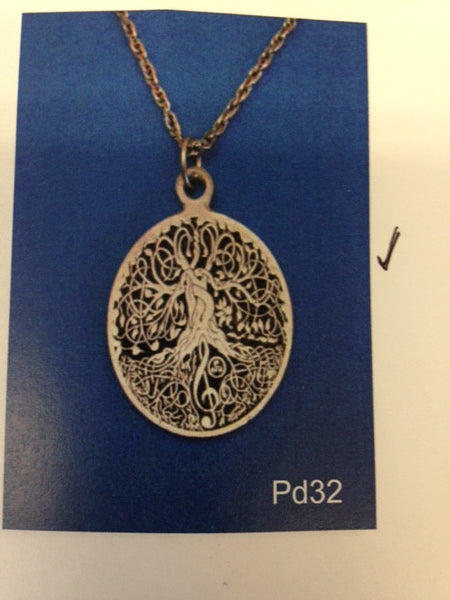 Piper Pewter Tree of life Sm.-PD32