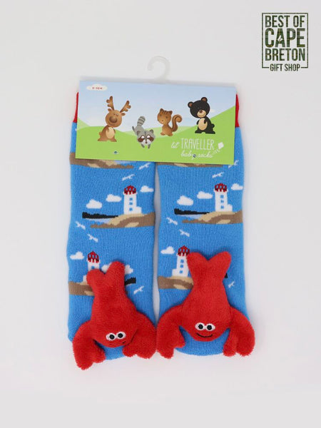 Lobster Socks (0-36 mth)