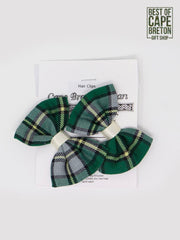 CB Tartan Child's Hair Clips