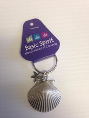 Basic Spirit Keychain- Seashells- KC-215