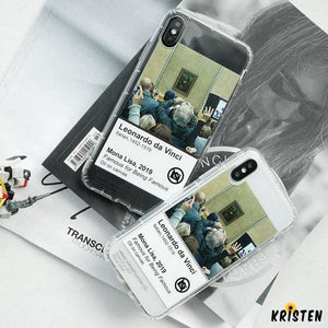 Funny Paiting Clear Silicone Shockproof Protective Designer Iphone Case for Se 11 Pro Max X - iPhone