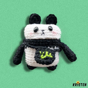 Knit Panda Protective Case for Apple Airpods 1 & 2 - AirPods