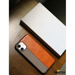 Luxury Leather Frabic Soft Protective Designer Iphone Case for Se 11 Pro Max X Xs Xr 7 - iPhone