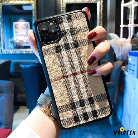 Luxury Style Leather Designer Iphone Case for Iphone 12 Pro Max Mini