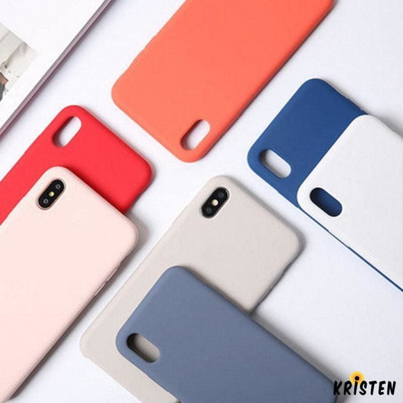 Modern Candy Color Opaque Protective Matte Iphone Cases for X / Xs / Max / Xr - iPhone Case