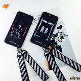 Modern Classic Retro Opera Painting Soft Silicone Designer Iphone Case with Lanyard for X Xs - iPhone