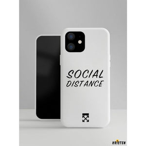 Off Social Distance Designer Iphone Case for Se 11 Pro Max X Xs Xr 7 8 plus - iPhone