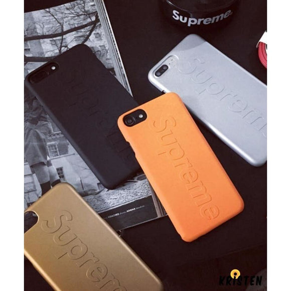 Supreme Style Modern Silicone Shockproof Protective Designer Iphone Case for Se 11 Pro Max X - iPhone