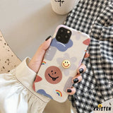 Takashi Style Flower Glossy Shockproof Protective Designer Iphone Case for Se 11 Pro Max X Xs - iPhone