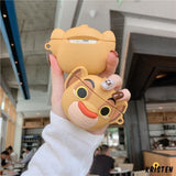 The Lion King Style Simba Cute Silicone Protective Case for Apple Airpods 1 & 2 - AirPods