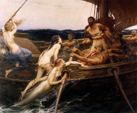 Ulysses and the Sirens by Marie-François Firmin-Girard
