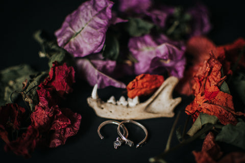 Birds N Bones Jewelry Collab with Mallory Francks Photography