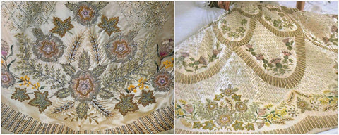 coronation dress embroidery