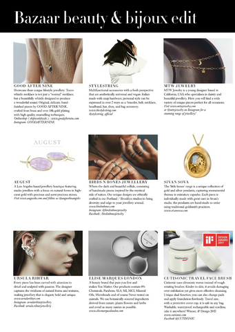 Harpers Bazaar June 17 Birds N Bones Jewelry