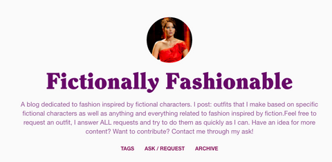 Fictionally Fashionable